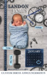 Megan Kelly - Baby - Birth Announcement - Design - Custom