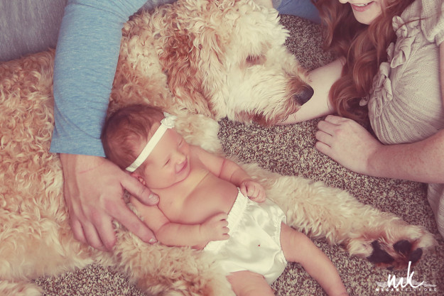 Megan Kelly, Zack, Brielle, Family Newborn Baby Photography, Vintage, Poses