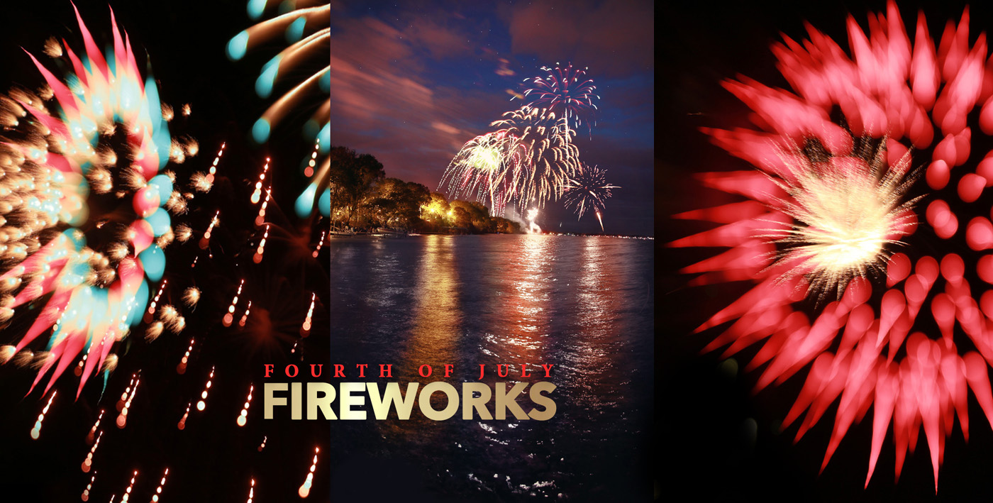 Creative Fireworks – Bokeh and Blur