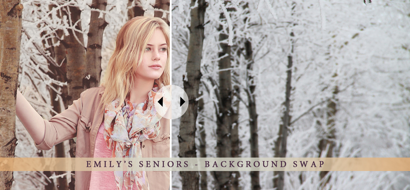Background Swap – Creative Senior Shoot