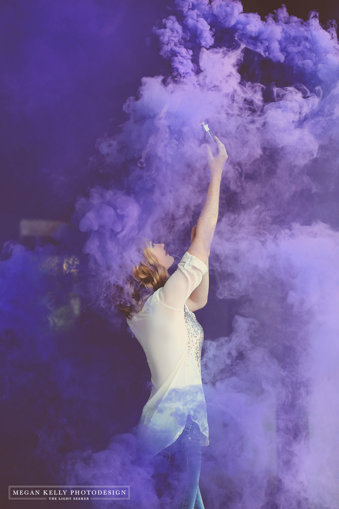 Smoke Bombs And Sparklers Megan Kelly Photodesign